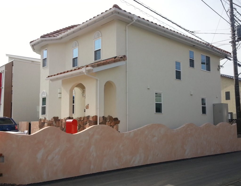 塗り壁のお家(プロヴァンスハウス)