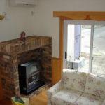 暖炉のある暖かいお家