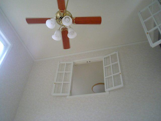 白を基調としたバリアフリーのお家
