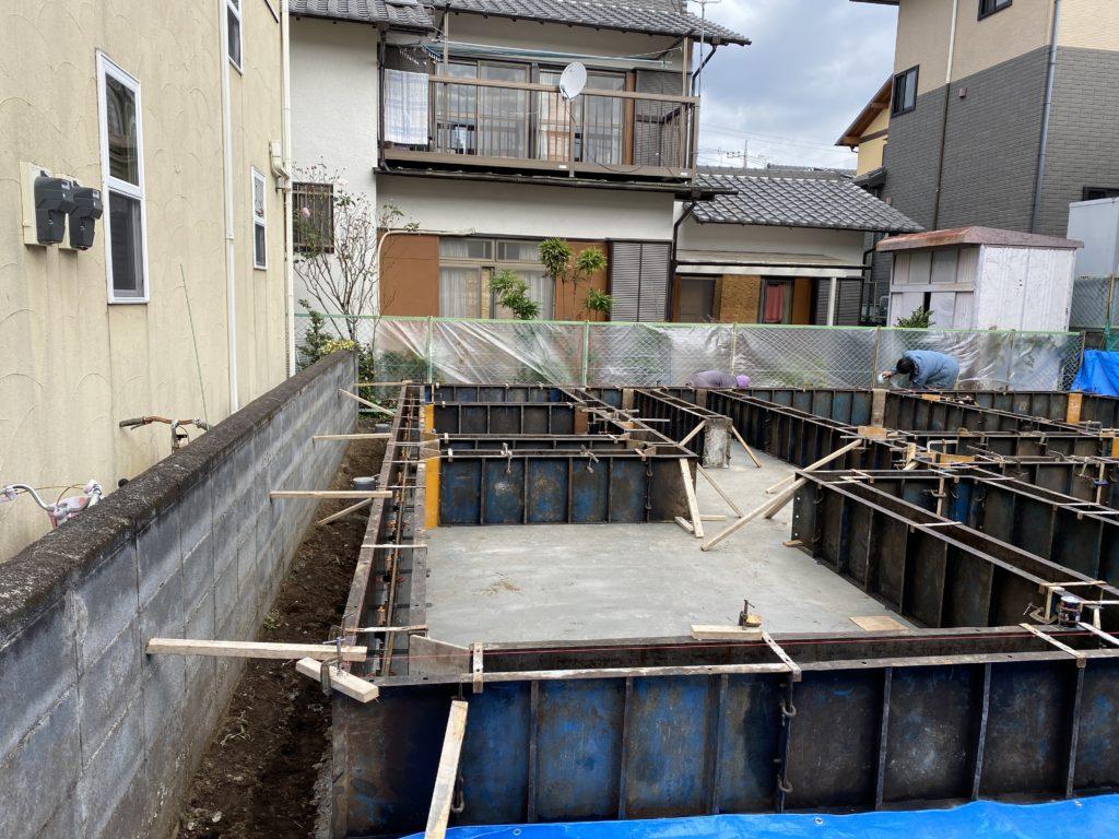 函南町のA様邸基礎工事!!