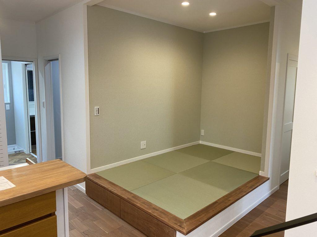 落ち着いた雰囲気のある琉球畳